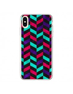 Coque iPhone XS Max Azteque Geometric Mundo - Maximilian San