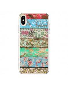 Coque iPhone XS Max Rococo Style Bois Fleur - Maximilian San