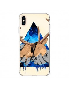 Coque iPhone XS Max Cerf Triangle Seconde Chance - Maximilian San