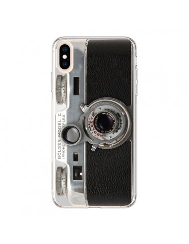 Coque iPhone XS Max Appareil Photo Bolsey Vintage - Maximilian San
