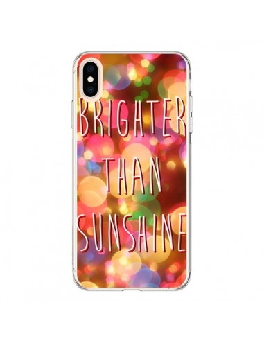 Coque iPhone XS Max Brighter Than Sunshine Paillettes - Maximilian San