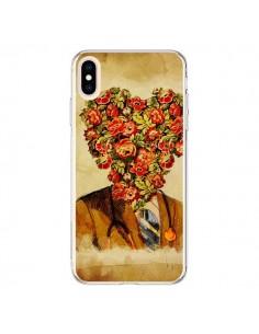 Coque iPhone XS Max Docteur Love Fleurs - Maximilian San