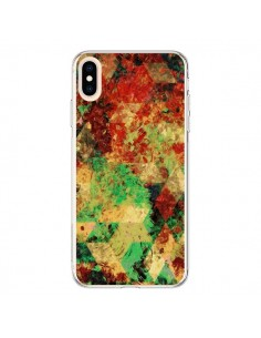 Coque iPhone XS Max Azteque Geometric Triangle - Maximilian San