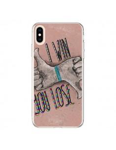 Coque iPhone XS Max I win You lose - Maximilian San
