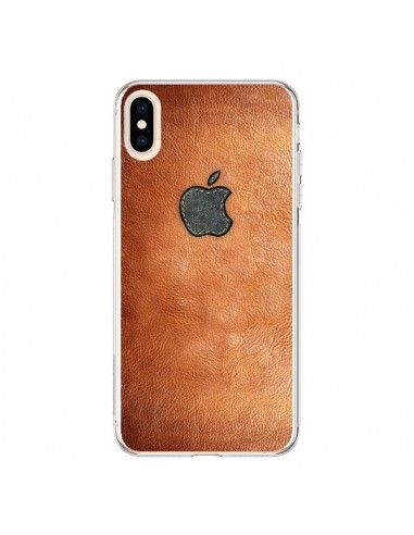 Coque iPhone XS Max Style Cuir - Maximilian San