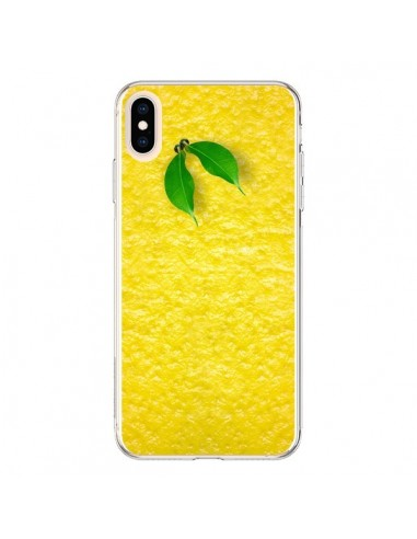Coque iPhone XS Max Citron Lemon - Maximilian San