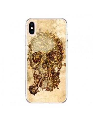 Coque iPhone XS Max Lord Skull Seigneur Tête de Mort Crane - Maximilian San
