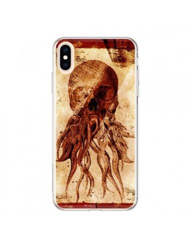 Coque iPhone XS Max Octopu Skull Poulpe Tête de Mort - Maximilian San