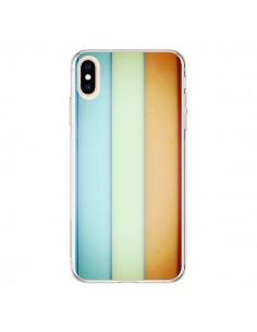 Coque iPhone XS Max Lignes Verticales Geometric - Maximilian San