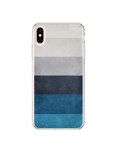 Coque iPhone XS Max Bandes Horizontales Greece Hues - Maximilian San