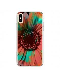 Coque iPhone XS Max Tournesol Lysergic Flower - Maximilian San