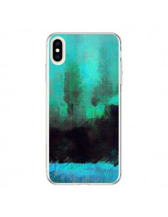 Coque iPhone XS Max Paysage Lysergic Horizon - Maximilian San