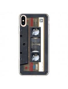 Coque iPhone XS Max Cassette Gold K7 - Maximilian San