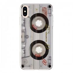 Coque iPhone XS Max Cassette Transparente K7 - Maximilian San