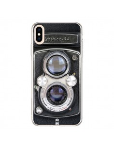 Coque iPhone XS Max Vintage Camera Yashica 44 Appareil Photo - Maximilian San