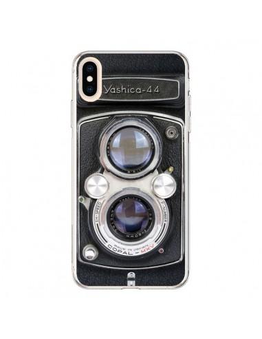 coque iphone xs max vintage camera yashica 44 appareil photo maximilian san