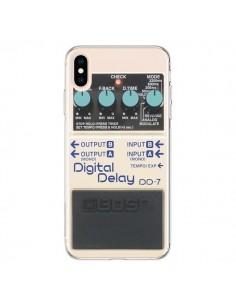 Coque iPhone XS Max Digital Delay Radio Son - Maximilian San