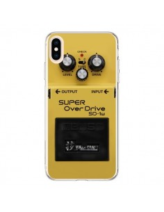 Coque iPhone XS Max Super OverDrive Radio Son - Maximilian San