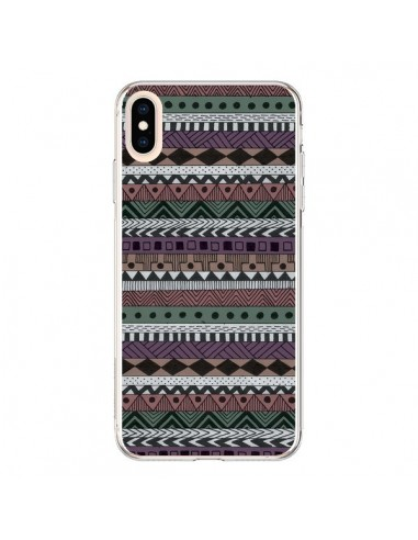 Coque iPhone XS Max Azteque Pattern - Börg