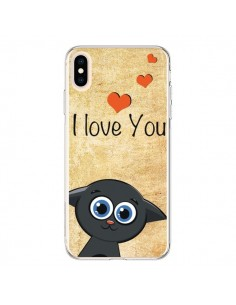 Coque iPhone XS Max Cute Cat - Nico