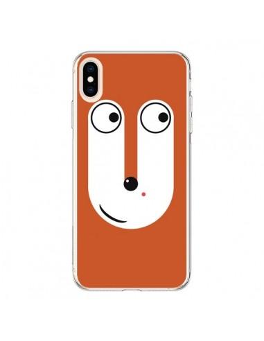 Coque iPhone XS Max Le Renard - Nico
