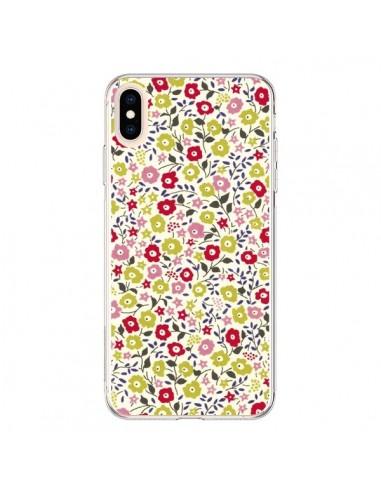 Coque iPhone XS Max Liberty Fleurs - Nico