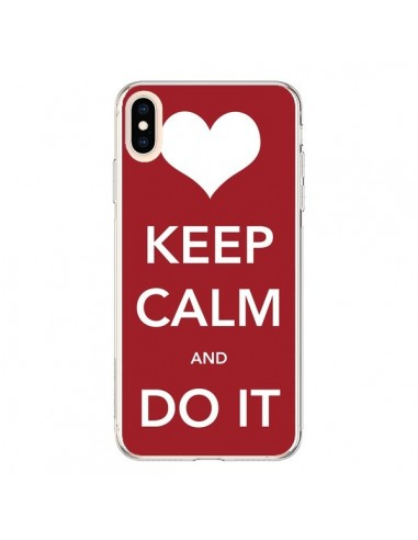 Coque iPhone XS Max Keep Calm and Do It - Nico