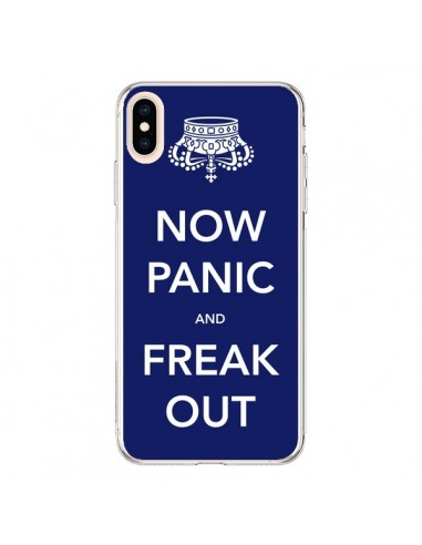 Coque iPhone XS Max Now Panic and Freak Out - Nico