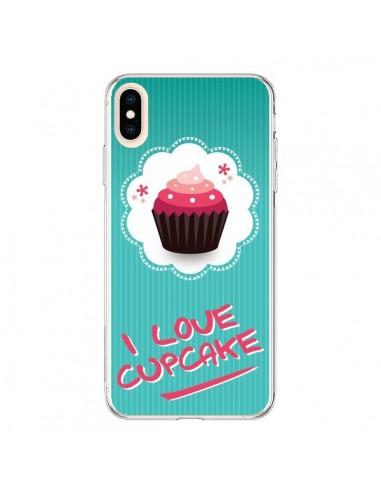 Coque iPhone XS Max Love Cupcake - Nico