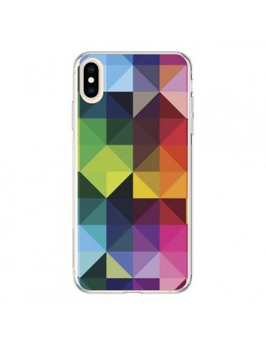 Coque iPhone XS Max Polygone - Nico