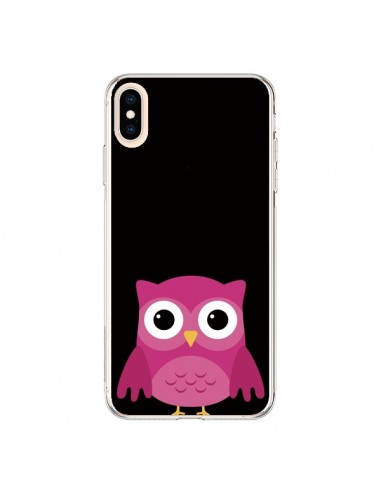 Coque iPhone XS Max Chouette Pascaline - Nico