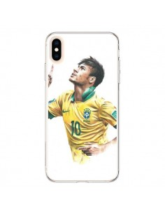 Coque iPhone XS Max Neymar Footballer - Percy