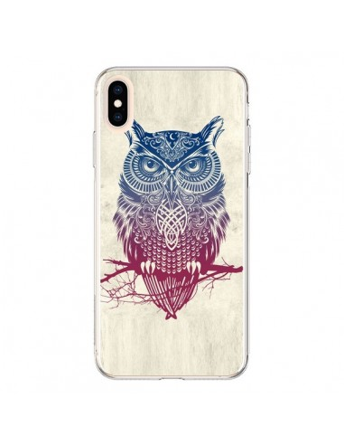 Coque iPhone XS Max Chouette - Rachel Caldwell