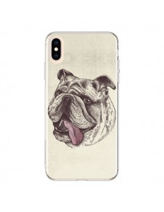 Coque iPhone XS Max Chien Bulldog - Rachel Caldwell