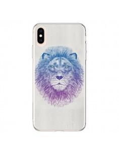 Coque iPhone XS Max Lion - Rachel Caldwell