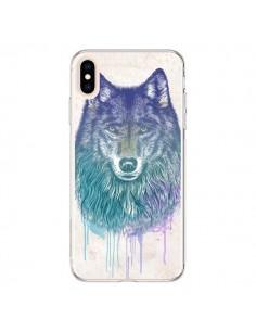 Coque iPhone XS Max Loup - Rachel Caldwell