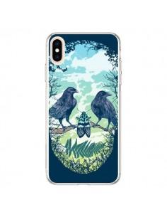 Coque iPhone XS Max Tête de Mort Nature - Rachel Caldwell
