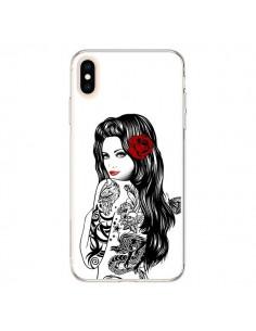 Coque iPhone XS Max Tattoo Girl Lolita - Rachel Caldwell
