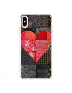 Coque iPhone XS Max Coeur Heart Patch - Rachel Caldwell