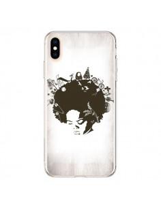 Coque iPhone XS Max Childhood Garden Afro - Rachel Caldwell
