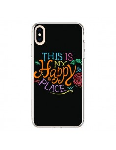 Coque iPhone XS Max This is my Happy Place - Rachel Caldwell