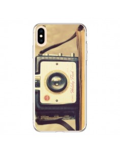 Coque iPhone XS Max Appareil Photos Vintage Smile - R Delean