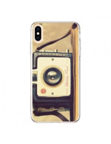 Coque iPhone XS Max Appareil Photos Vintage Smile - R Delean