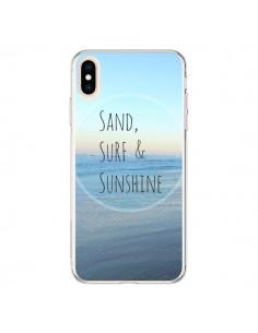 Coque iPhone XS Max Sand, Surf and Sunshine - R Delean