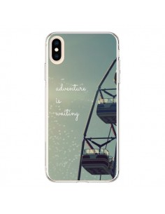 Coque iPhone XS Max Adventure is waiting Fête Forraine - R Delean