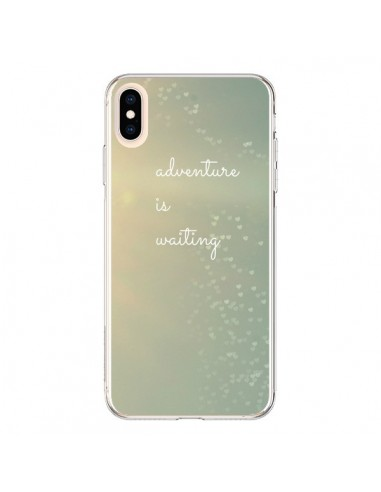 Coque iPhone XS Max Adventure is waiting Coeurs - R Delean