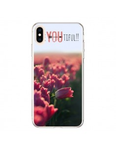 Coque iPhone XS Max Coque iPhone XS Max Be you Tiful Tulipes - R Delean