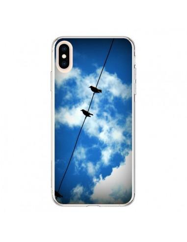 Coque iPhone XS Max Oiseau Birds - R Delean