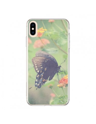 Coque iPhone XS Max Papillon Butterfly - R Delean