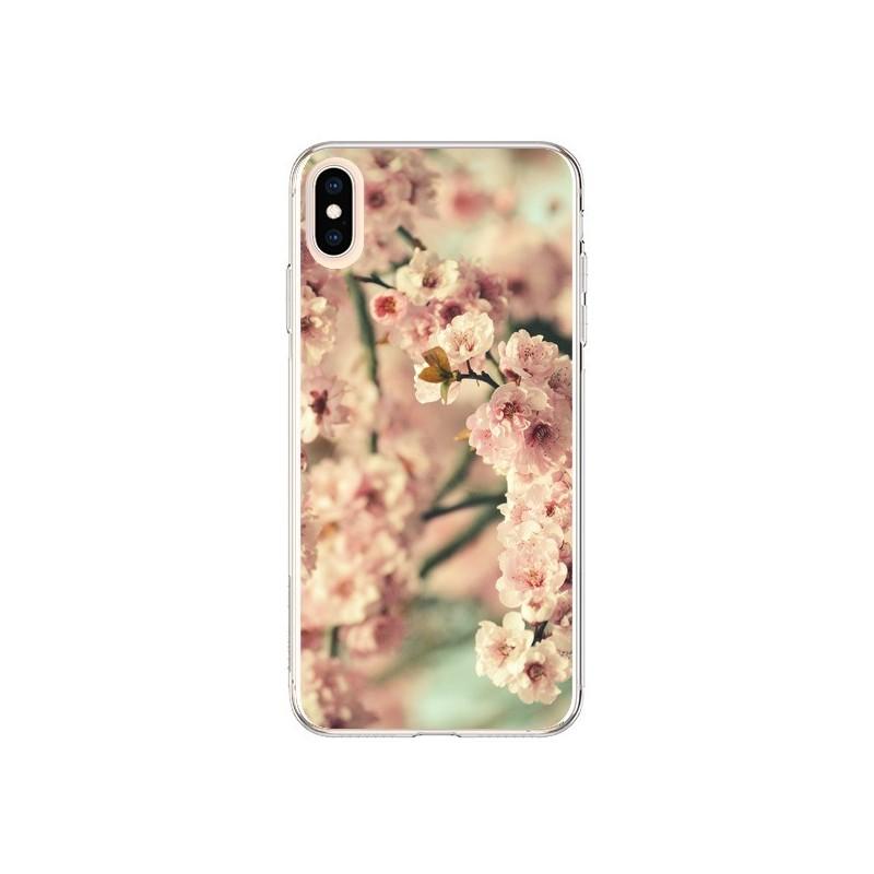 Coque iPhone XS Max Fleurs Summer - R Delean
